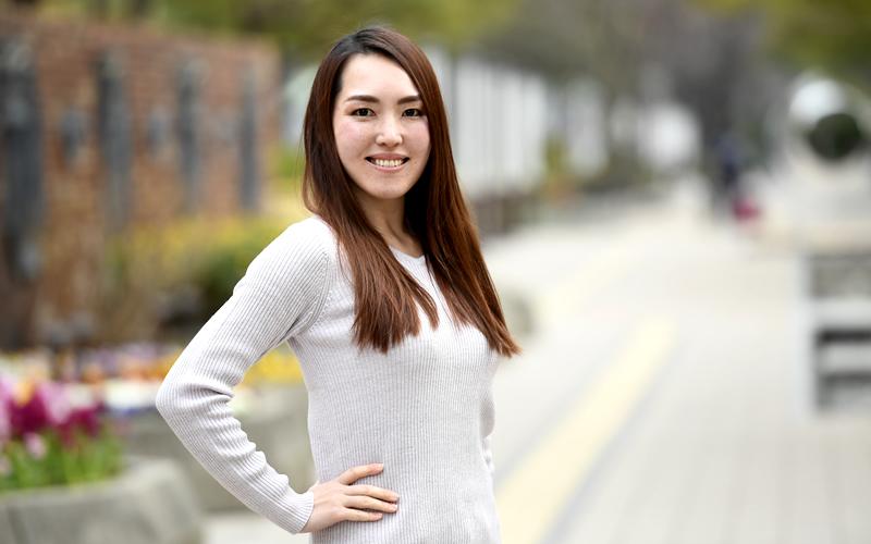 転職は仕事と夢の両立のため──チアリーダー和氣聡美さん(1)