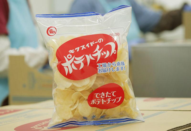 チップス 菊水 堂 ポテト