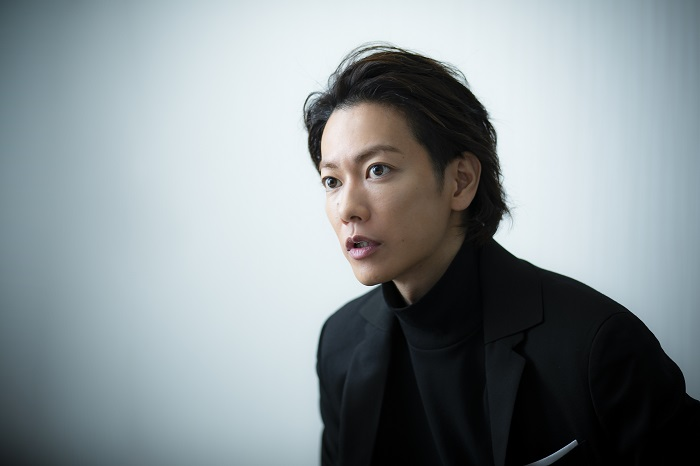佐藤健さんインタビューカット